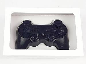 Caixa Branca para Joystick PlayStation Grande Controle Video Game