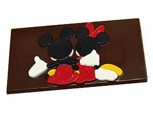 Forma Barra Mickey e Minnie Abra�ados 75g Ref.12011 BWB