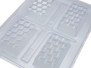 Forma com Silicone Mini Tablete 3D 85g Ref.9904 BWB