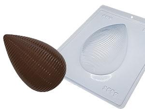 Forma com Silicone Ovo de Páscoa Bicudo 350g Ref.9555 BWB