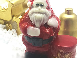 Forma com Silicone Papai Noel com Saco 75g Ref.9666 BWB