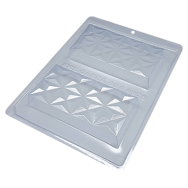 Forma com Silicone Tablete Nuance 3D 250g Ref.9976 BWB