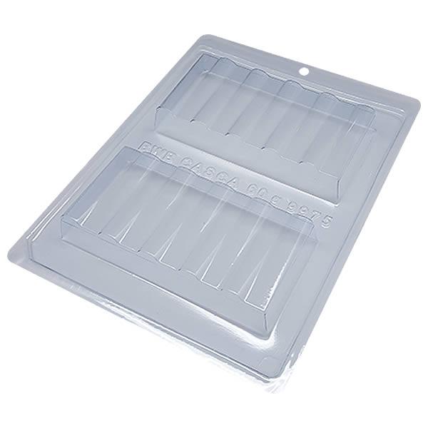Forma com Silicone Tablete Tubos 250g Ref.9975 BWB