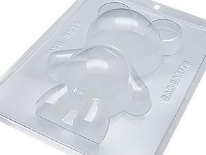 Forma com Silicone Urso Ursinho 500g Ref.9910 BWB