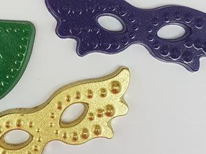 Forma Máscaras de Carnaval Ref.9698 BWB