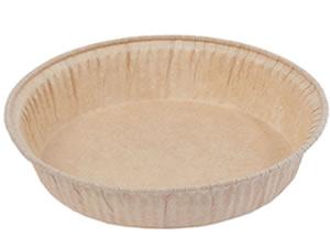 Forma para Torta (Pie) GG 22x2.5cm Marrom Linha Top Ecopack Ref.PE22025M/5 5und Sulformas
