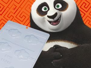 Forma Pirulito Mestre Po Kung Fu Panda 13g Ref.11015 BWB