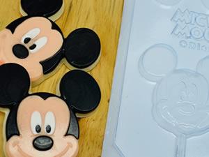 Forma Pirulito Rosto Mickey 28g Ref.12052 BWB