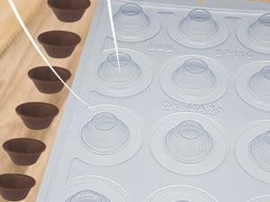 Forma Semiprofissional com Silicone Mini Cupcake SP 110 Ref.3528 BWB