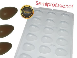 Forma Semiprofissional SP Ovo Liso 30g Ref.3622 BWB