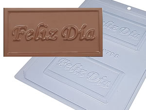 Forma Tablete Feliz Día 40g Ref.9795 BWB