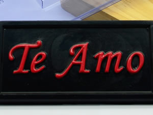 Forma Tablete Te Amo 40g Ref.9793 BWB
