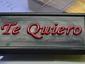 Forma Tablete Te Quiero 40g Ref.9794 BWB