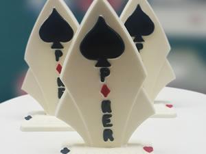 Forma Troféu Poker Ref.9536 BWB