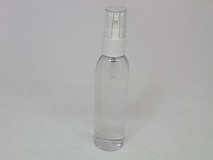 Frasco Cilindrico PVC Alto 60ml com Válvula Dosadora Branca R18/415mm com Corte na Tampa