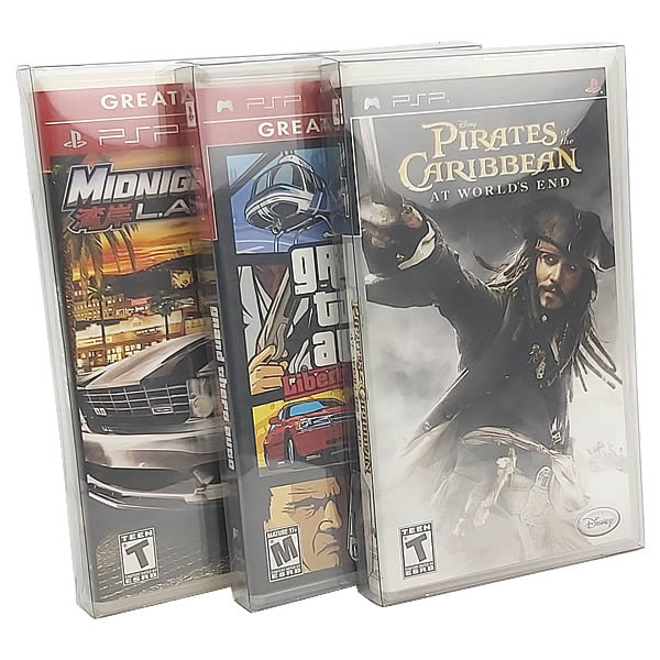 Games-35 0,20mm Caixa Protetora para Caixabox Case Playstation PSP
