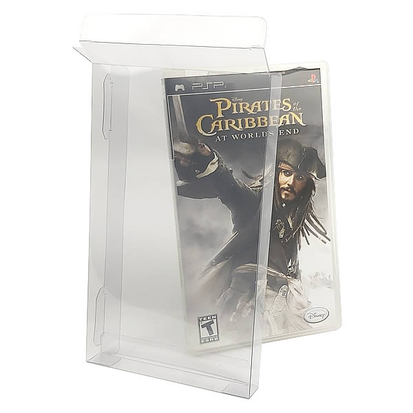 Games-35 0,30mm Caixa Protetora para Caixabox Case Playstation PSP