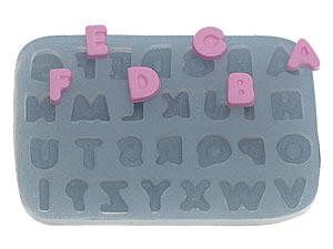 Molde de Silicone Alfabeto Pequeno cod.299 Flexarte