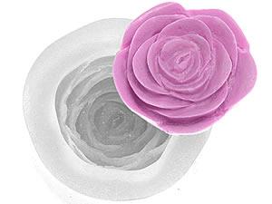 Molde de Silicone Rosa Scarlett cod.257 Flexarte