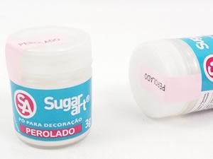 Pó para Decoração 3g Perolado Cintilante Sugarart