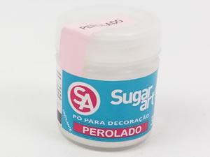 Pó para Decoração 3g Cintilante Perolado Sugarart