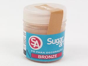 Pó para Decoração 5g Bronze Metálico Sugarart
