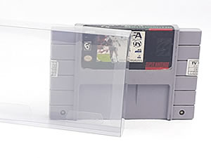 Games-1 0,30mm Protetor para Cartucho Loose Super Nintendo SNES