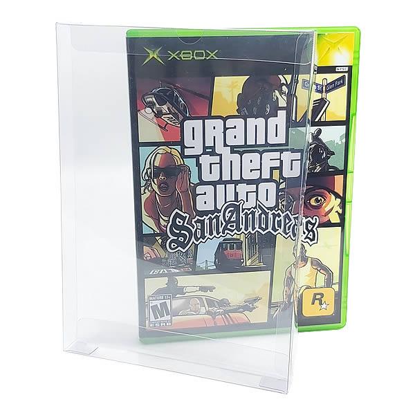 Games-20 0,20mm Caixa Protetora para DVD, Playstation 2, Gamecube, Xbox Clássico, Wii e Wii U