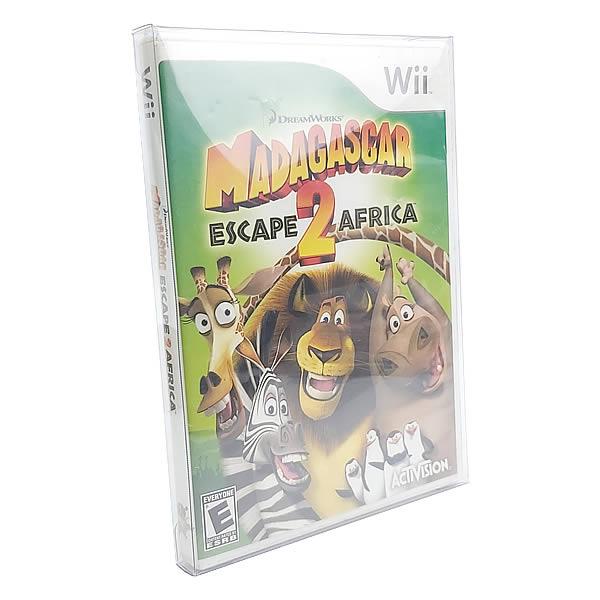 Games-20 0,30mm Caixa Protetora para DVD, Playstation 2, Gamecube, Xbox Clássico, Wii e Wii U