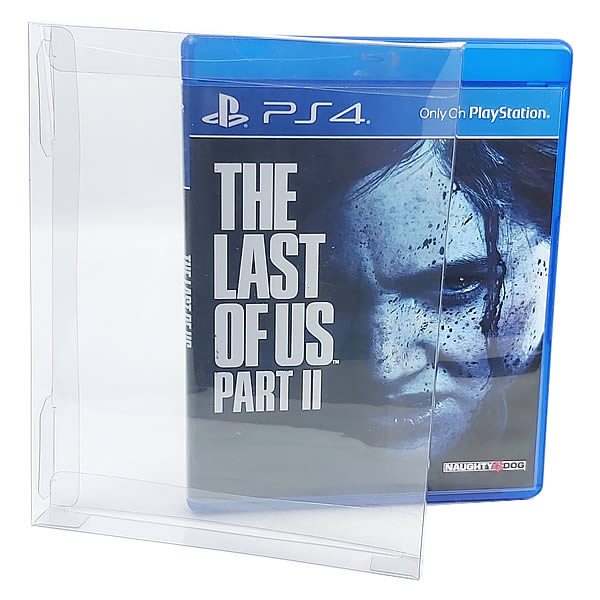 Games-21 0,30mm Caixa Protetora para Blu-Ray, Playstation 3, Playstation 4, Xbox One, Steelbook