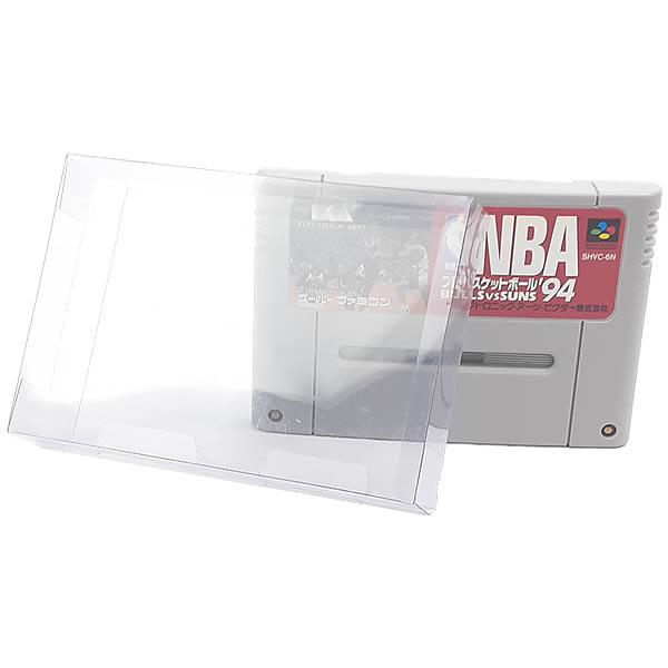 Games-5 0,20mm Caixa Protetora para Cartucho Loose Super Famicom