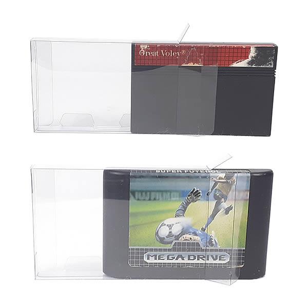 Games-6 0,20mm Caixa Protetora para Cartucho Loose Mega Drive, Loose Master System