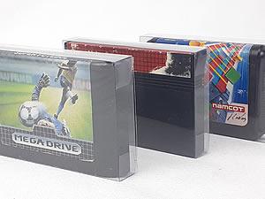 Games-6 0,30mm Protetor para Cartucho Loose Mega Drive, Loose Master System e Case da Fita K-7