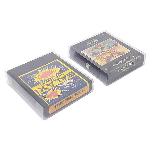 Games-7 0,20mm Caixa Protetora para Cartucho Loose Atari 2600