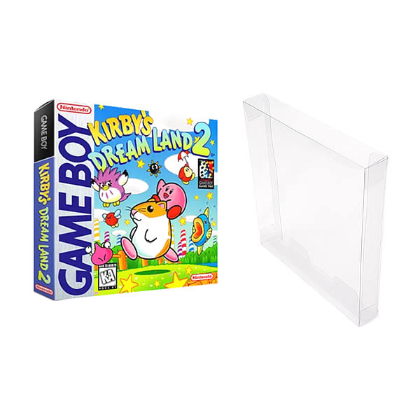 Games-8 0,20mm Caixa Protetora para CaixaBox Case Game Boy, Game Boy Color e Game Boy Advance