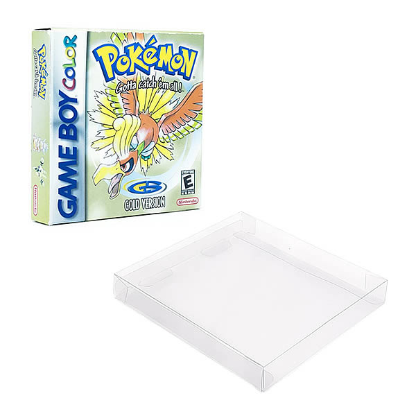 Games-8 0,30mm Caixa Protetora para CaixaBox Case Game Boy, Game Boy Color e Game Boy Advance