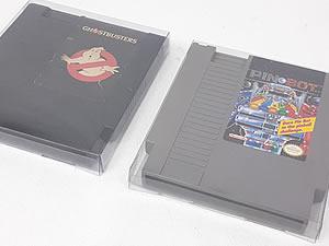 Games-9 0,30mm Caixa Protetora para Cartucho Loose Nintendinho 72pinos Nes