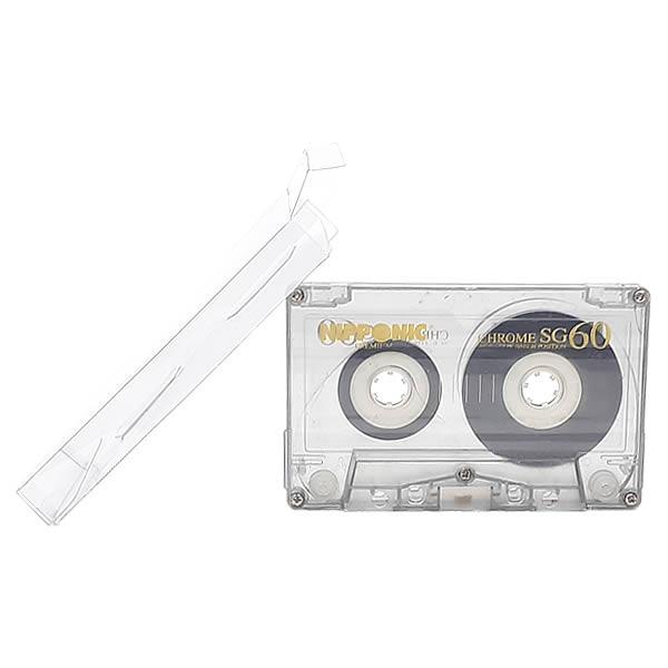 K7-Fita 0,20mm Caixa Protetora para Cartucho Loose Fita Cassete K7