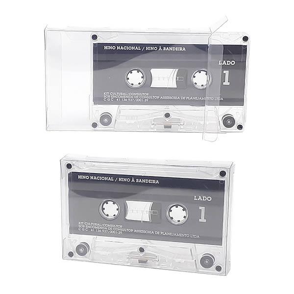 K7-Fita 0,30mm Caixa Protetora para Cartucho Loose Fita Cassete K7